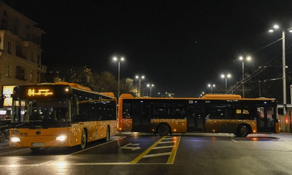 Нощният транспорт в София чака първите си пътници на 7 април