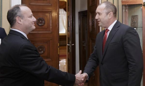 Посланикът на САЩ – на среща с президента Радев