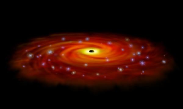 Астрономи откриха 12 черни дупки в центъра на Млечния път