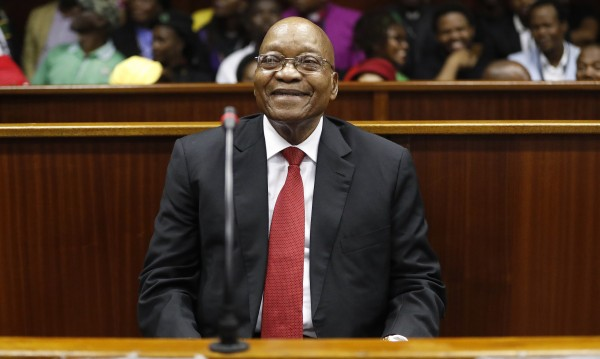 Бивш президент на Южна Африка в съд за корупция