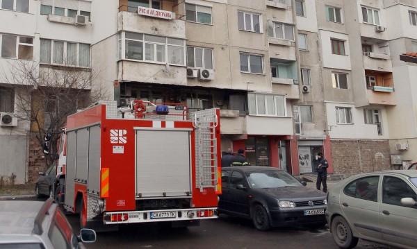 Дядо почина при пожар в дома си в ж.к. Зона Б19