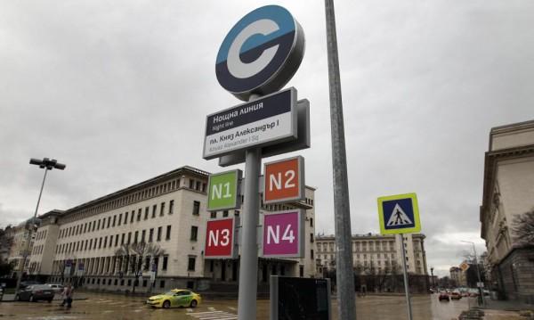 Тръгва нощният градски транспорт в София