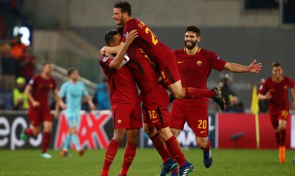 Сензация! Рома отстрани Барса в Шампионската лига