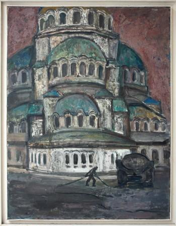 Живописта на Владимир Гоев, която носи духовност