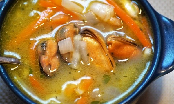 Рецептата Dnes: Супа с риба и моркови