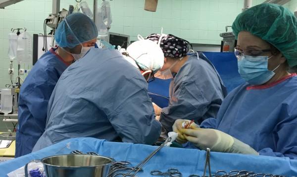 Във ВМА направиха поредна чернодробна трансплантация