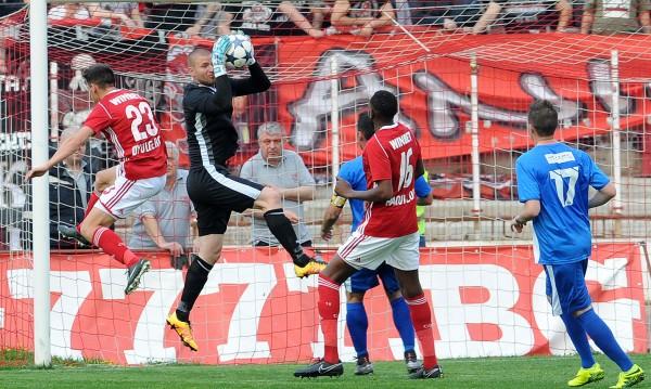 ЦСКА прегази Верея с 5:1, Алберг се разписа два пъти