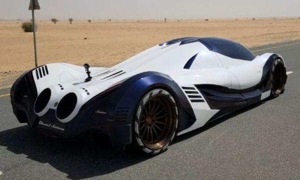 Араби не си поплюват! Показаха как ускорява кола с 5007 к.с.