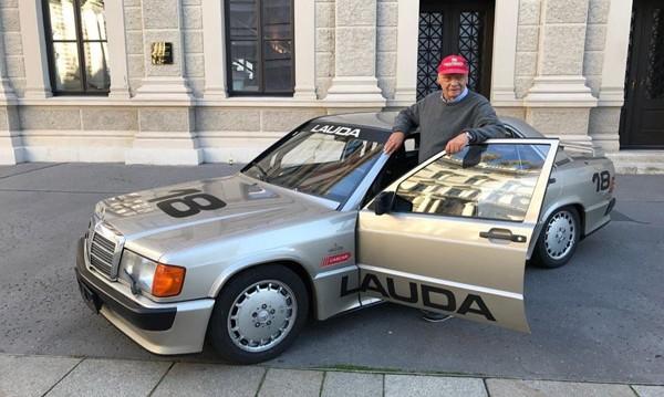 Продават състезателен Mercedes на Ники Лауда от 1984 г.