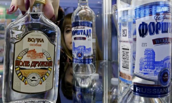Алкохол се лее... Но не и в Русия. Пиенето намалява!