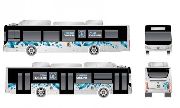 20 нови електробуса пристигат в София през октомври