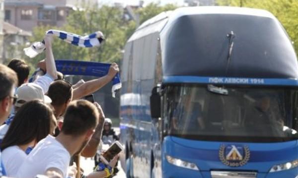 Около 30 задържани след дербито Левски-ЦСКА
