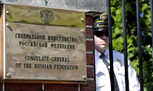 US властите разбиха руското консулство в Сиатъл
