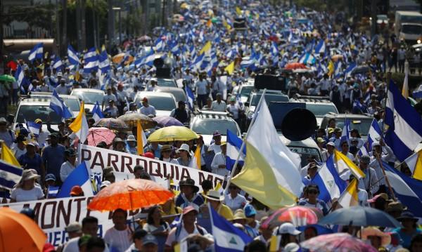 Нови протести в Никарагуа – хиляди излизат в Манагуа