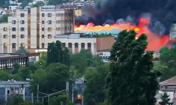 След пожара в София, въздухът в допустимите норми