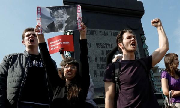 """""""Путин не ни е цар"""", арести... ЕС поиска свобода за протестиращите!"""