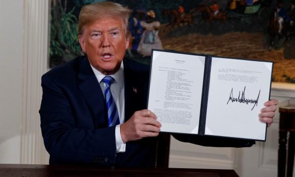 Тръмп обяви оттеглянето на САЩ от ядрената сделка с Иран