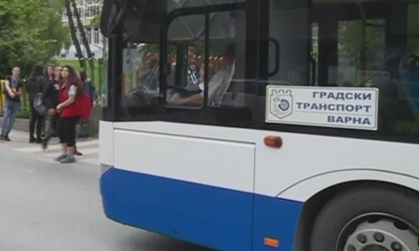 Учениците във Варна – масово с фалшиви карти за автобус