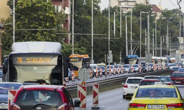 Заради гостите от ЕС: Тапи и проблем с транспорта!