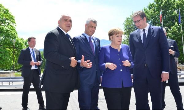 Борисов събра Тачи и Вучич: Съединението прави силата!