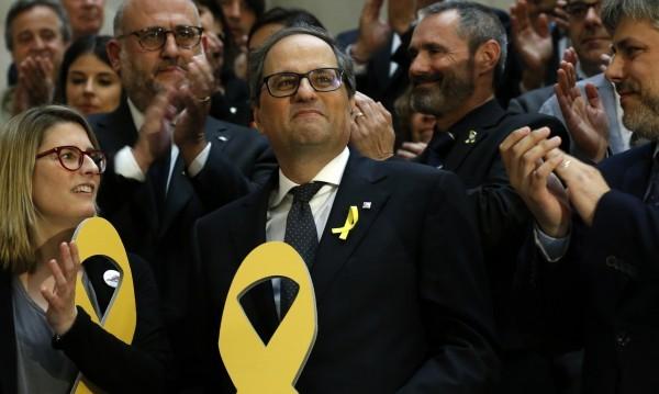 В кабинета на Каталуния - министри в затвора, в изгнание