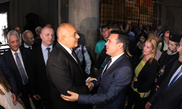 Борисов: България и Македония да ползват общи посолства, където нямат