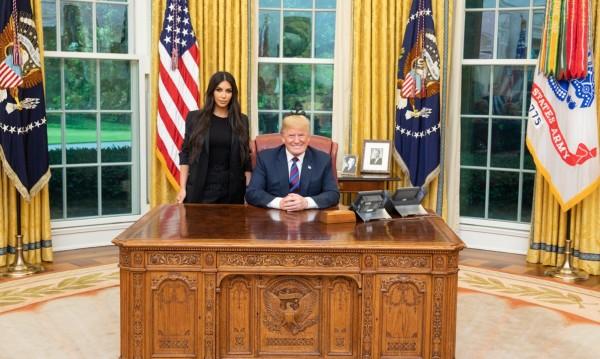 Президентът Тръмп се срещна с Ким, но... Кардашиян