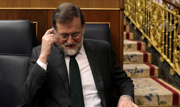 Рахой свален от власт в Испания след вот на недоверие
