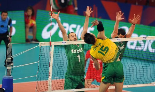 Волейболистите ни отстъпиха с 0:3 на Австралия