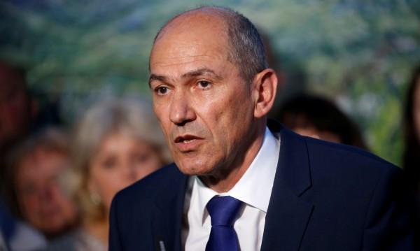 Осъждан за корупция, Янез Янша печели вота в Словения