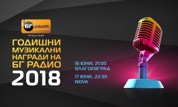Васил Найденов ще участва на наградите на БГ Радио
