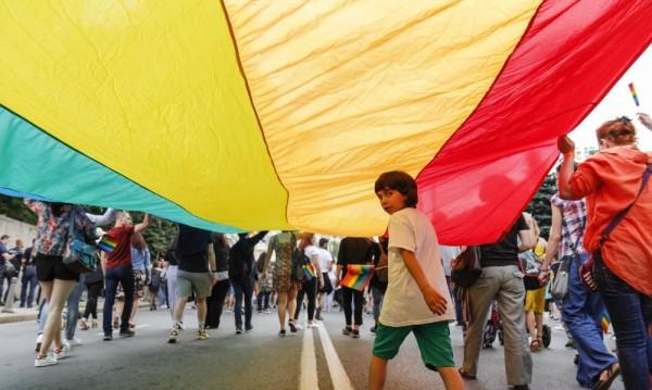 Поход за семейството в пет града, гей парад в София
