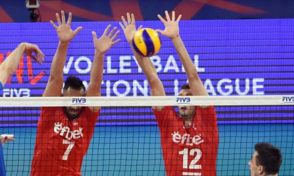 Паднахме и от Италия във волейболната Лига на нациите