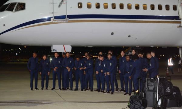 """Бразилия пристигна в Русия, цели се в """"шестата"""""""