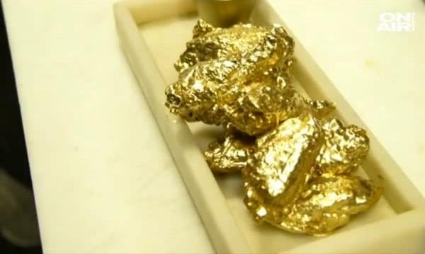 За $45: Пилешки крилца в 24-каратово злато!?