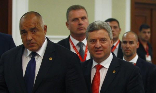 Борисов и Захариева отказаха сгледа с македонския президент. Защо?