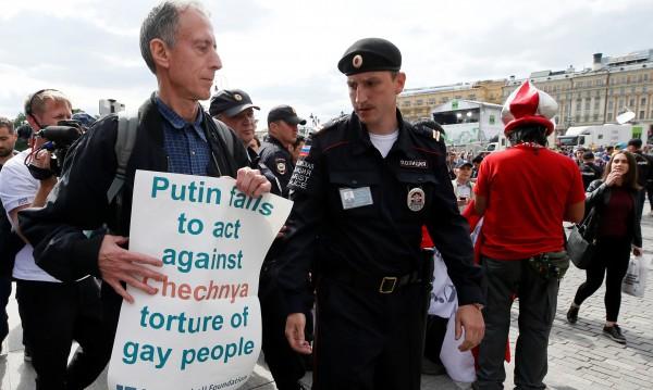 Британец направи опит за ЛГБТ протест в Москва