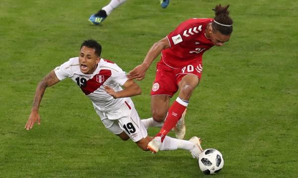 Дания победи Перу, резултатът - 1:0