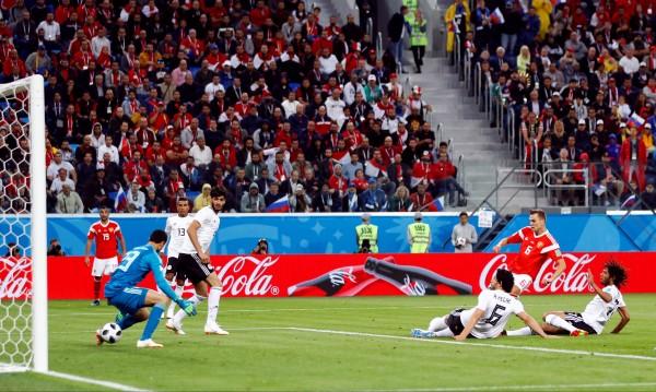 Русия премаза Египет с 3:1 в Санкт Петербург