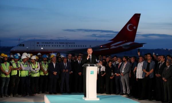 Ердоган на новото летище: Ако е рекъл Аллах, ще е марка!