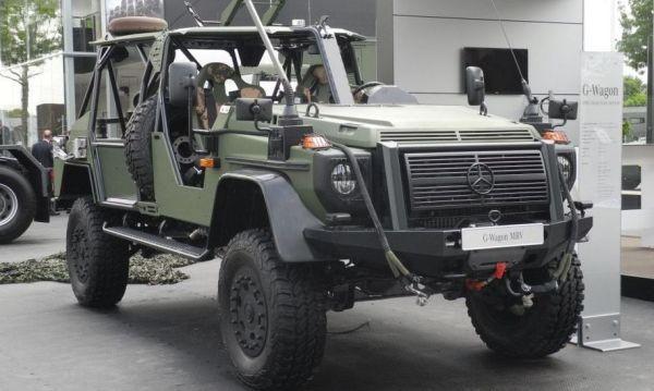 Mercedes-Benz направи G-Class и за военните