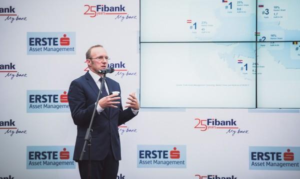 Fibank привлече Erste Bank в проект за взаимни фондове