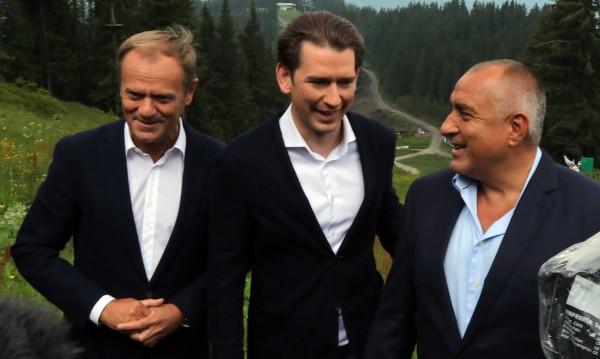 Борисов сдаде, Курц пък пое: Европа трябва да е единна!