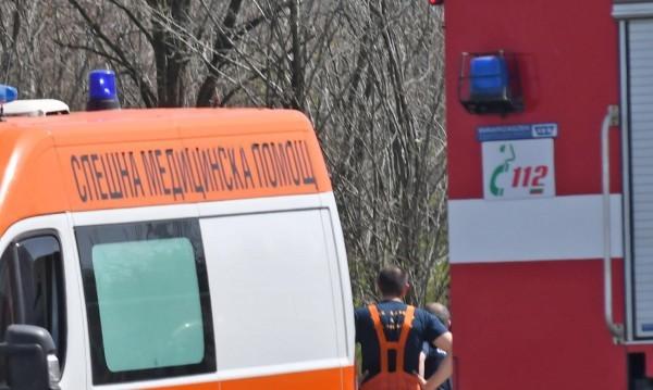Меле на пътя край Пазарджик, петима са ранени