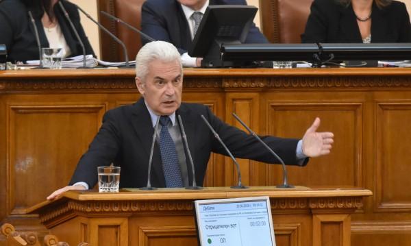Сидеров за критиките на президента: Търси под вола теле!