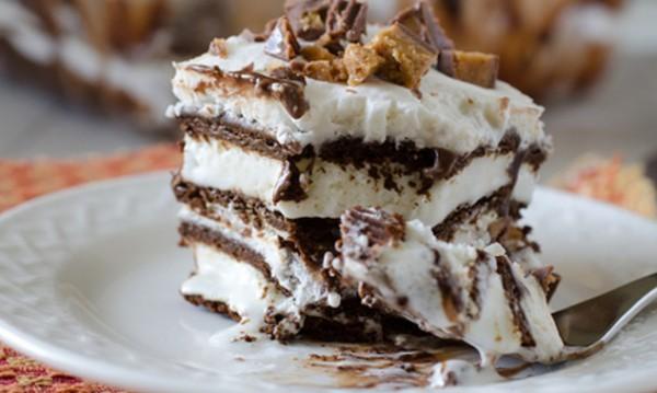 Рецептата Dnes: Домашна торта със сладоледени сандвичи