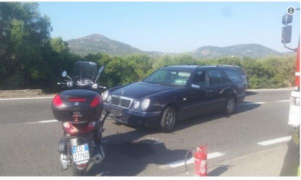 Джордж Клуни катастрофира с мотор в Италия