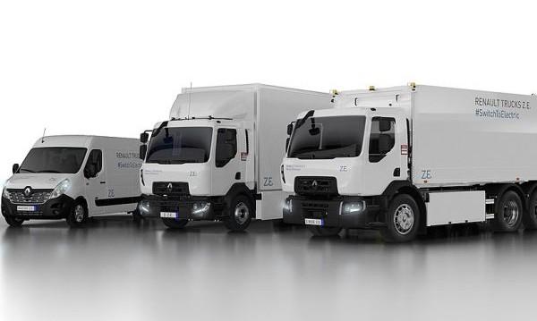 Renault пуска на пазара 3 нови електрически камиона
