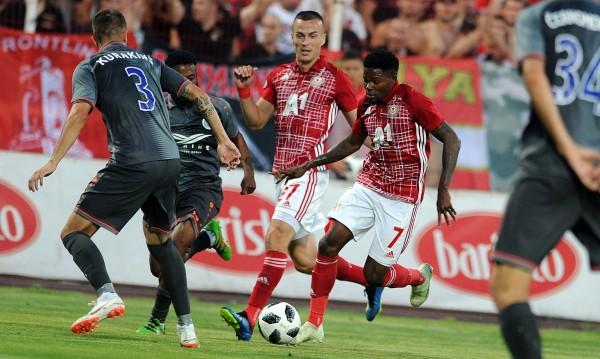 ЦСКА започна с победа участието си в Лига Европа