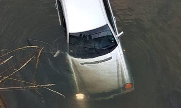 Заради висока скрост: Кола в рибарник край Рудозем!